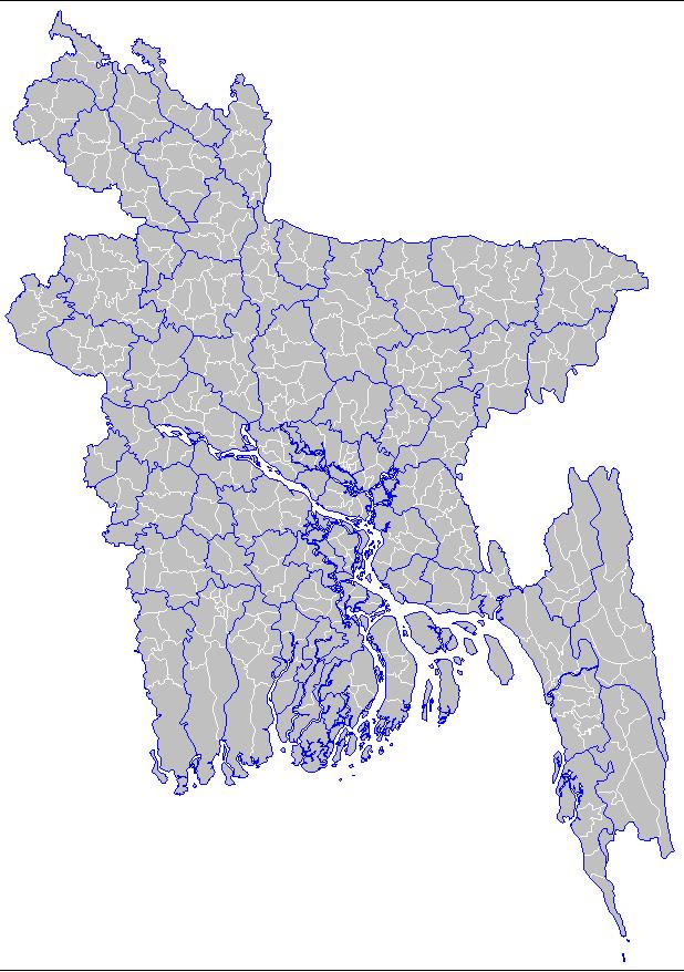 Bd upzilla map dowenload
