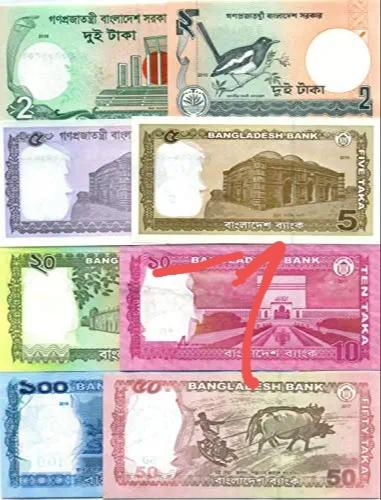 Bangladesh bank notes